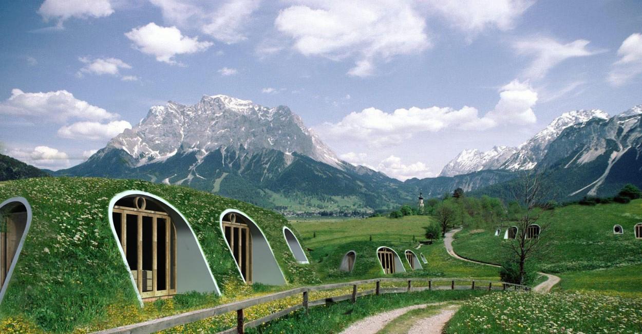 La maison de hobbit accessible et respectueuse de l'environnement