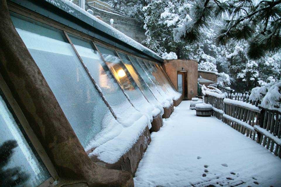 L'isolation parfaite d'un geonef permet de supporter toutes les températures -Jenny Parkins - Flickr