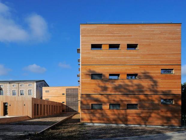 structure en bois - Lycée André Paillot