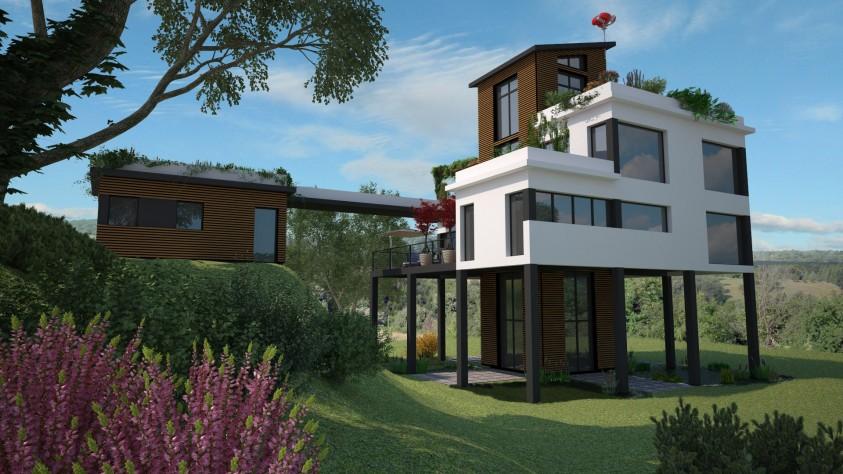 Médaille d'Or Challenge de l'habitat innovant 2017 pour la maison du futur - maisons Ericlor