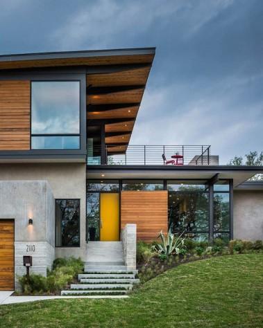 exemple de maison à ossature acier